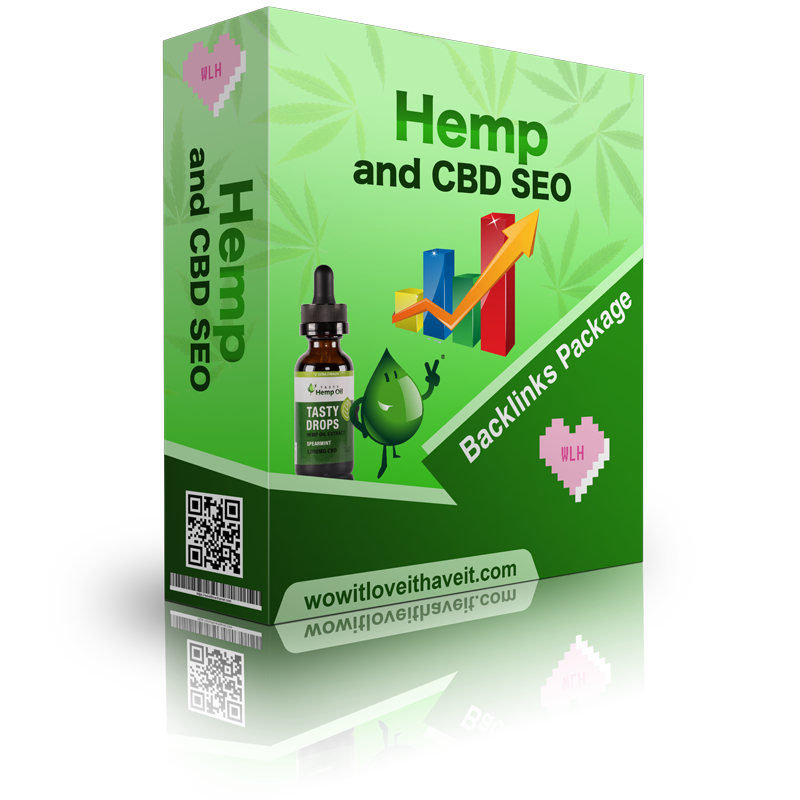 Hemp and CBD SEO Backlinks Package