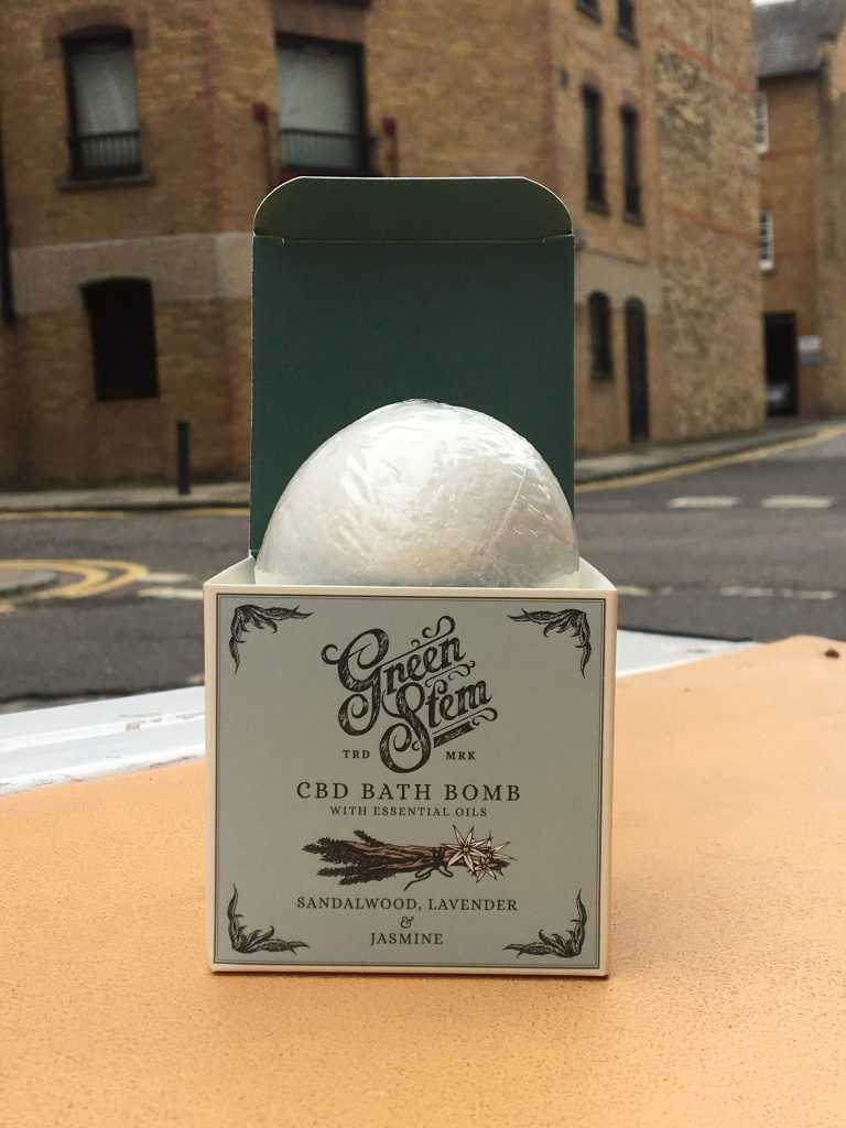 Green Stem CBD Bath Bomb