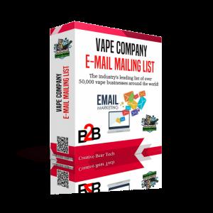 Global Vape Company Email List